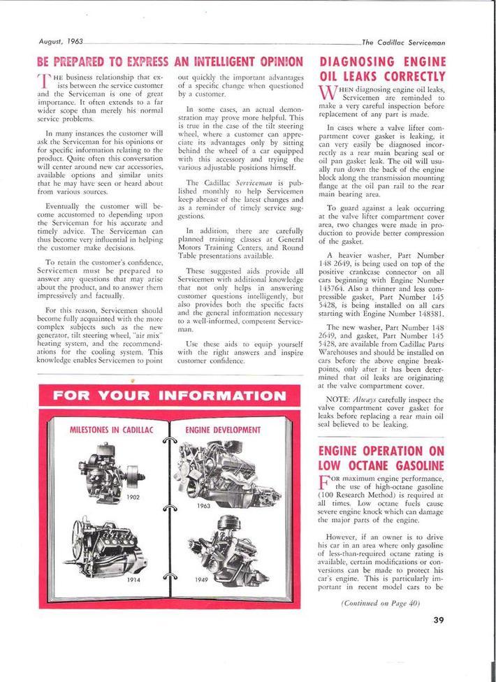 1963 Cadillac Serviceman pg39