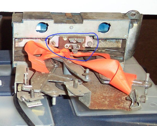 63 Master Control - NON AC Master Switch Back