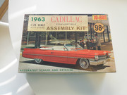 1963 & 1964 Cadillac Model Cars, Scale Replicas and Toys