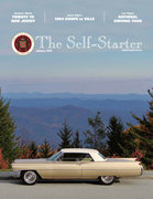 Jason's Coupe DeVille Featured on Cover of January CLC Self Starter