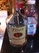 BEST VODKA--TITO'S -TEXAS