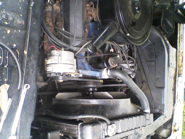 motor right side