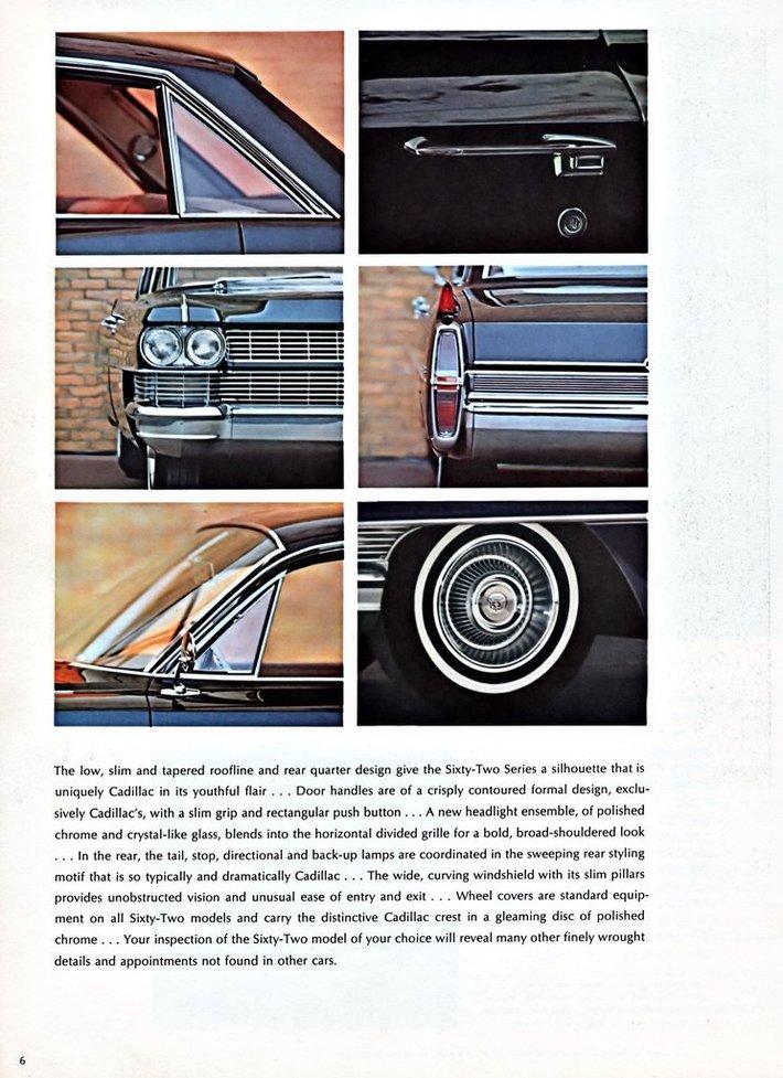 1964 Cadillac Brochure Page 6