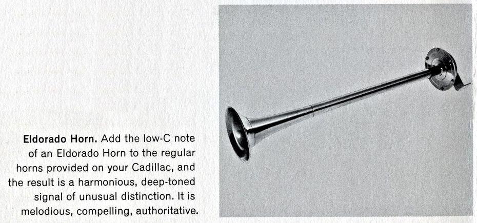 1964 Eldorado Low C Long Trumpet Horn