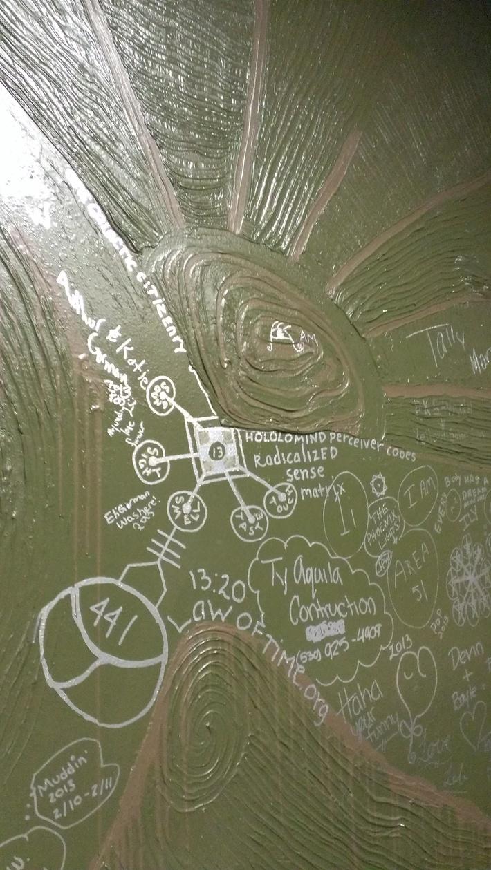 Wall Art, Coffee Shop - Mt. Shasta California