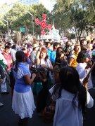 Marcha por los derechos de los Huicholes
