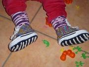 Schuhe passen