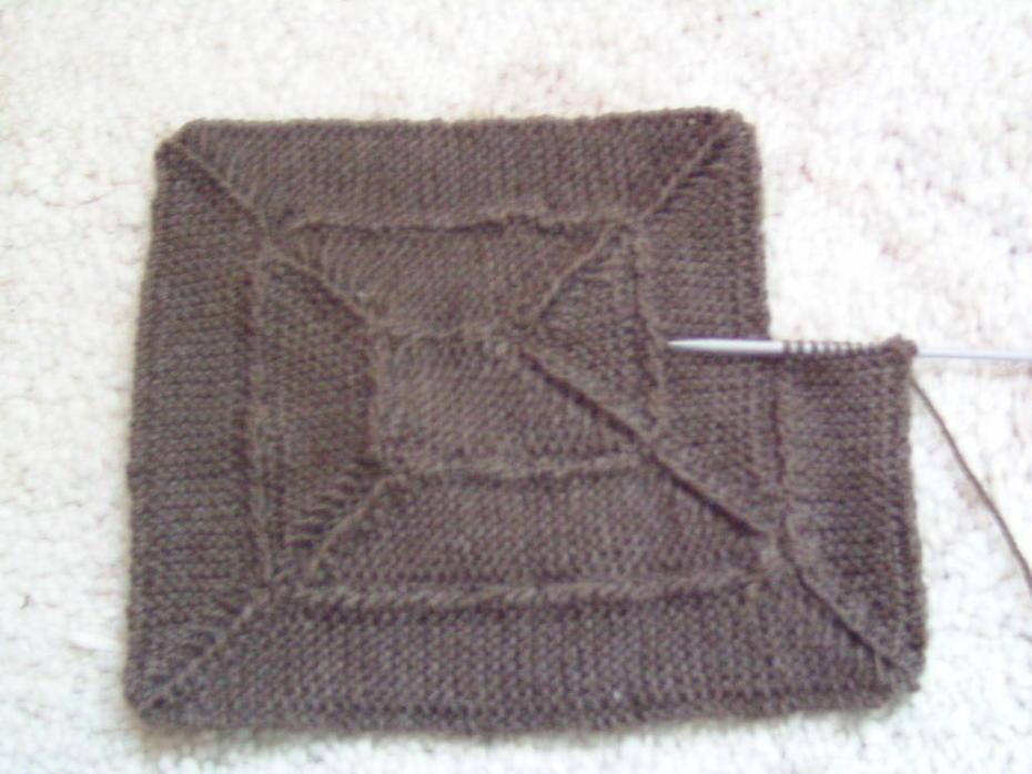 10stitch blanket nach alter Anleitung