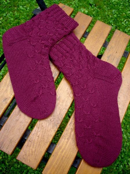 Motten-Socken