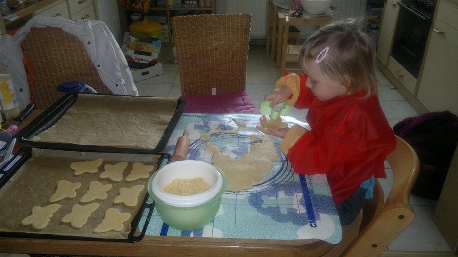 die kleine Bäckerin