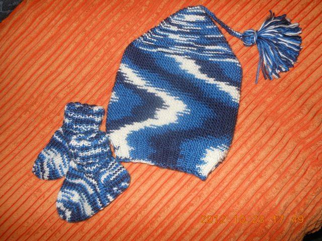 Haube +Socken