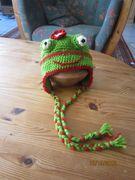 Kindermütze Frosch 2