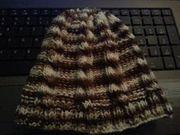 Mütze mit Zopfmuster