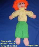 Puppe 18 fertig 02.01.2013