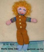 Puppe 17mit Weste