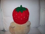 Erdbeermütze