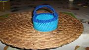 Osterkörbchen blau