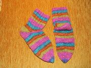 die fertigen Socken