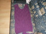 Vorderteil Pullover
