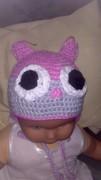 Mütze Eule