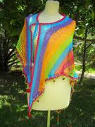 "Triangle Shawl, Paero ""Color me Happy"" ©"
