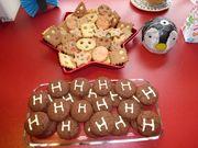 Kekse ohne Ende für die Party meiner Nichte
