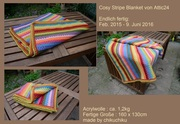 Attic24 Cosy Stripe Blanket