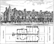 Artizans plan and drawing for Noel Park estate