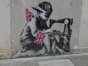 Banksy on Wood Green high road