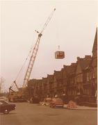 Installing the original pods in 1972