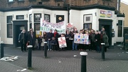 Protest against *another* betting shop in Wood Green