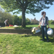 Russell Park cleanup 09/10/17