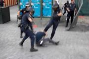 SPAIN POLICE BRUTALITY