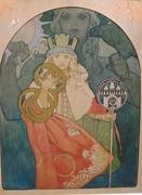 Stolen Plakatentwurf 1911