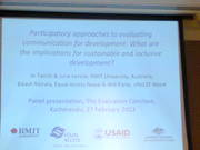 Participatory Approaches to Evaluating Communication for Development