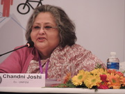 Here comes a mention of Ratna Sudarshan by Chandni Joshi