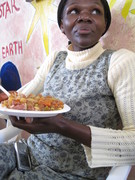 Kenya: woman at the Grapesyard organization, Nairobi