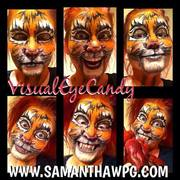Disney Inspired Tiger Hand Painted By SamanthaWpg