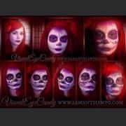 Sugar Skull Make Up Day of The Dead