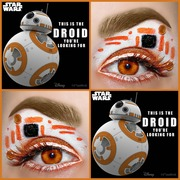 Star Wars BB-8 Makeup