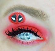 100 Days Of Makeup: Day 1 - Deadpool