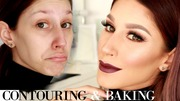 contouring and baking video is up!