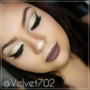 Gold Brown Fall Makeup