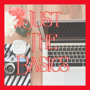 Just The Basics! (Education for Newbie Mom Bloggers)