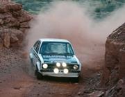 Ford Escort Rallye Car