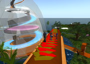 Virtual Anti Violence Campus in Second Life
