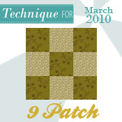 Beginner Nine Patch! - Techniques 2010