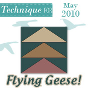 Flying Geese! - Techniques 2010