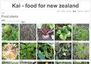 Kai - food for new zealand