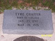 Descendants of Tyre Chaffin and Frances McAllister